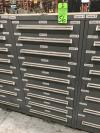 "60"" Vidmar 9-Drawer Ball Bearing Tool Cabinet"