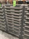 "60"" Vidmar 10-Drawer Ball Bearing Tool Cabinet"