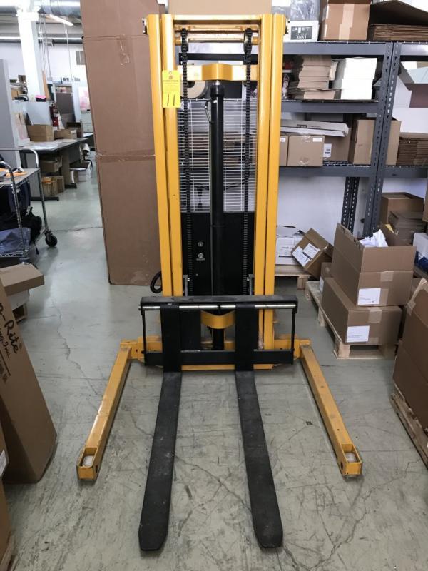 Big Joe EMS-A2200 Electric Walk Stacker, s/n M3040196 (Asset