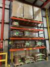 "Single Section of Pallet Racking, 20'T x 12'W x 42""D"