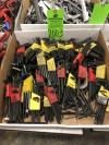 Lot of Assorted Allen Wrenches (Location: LL12)