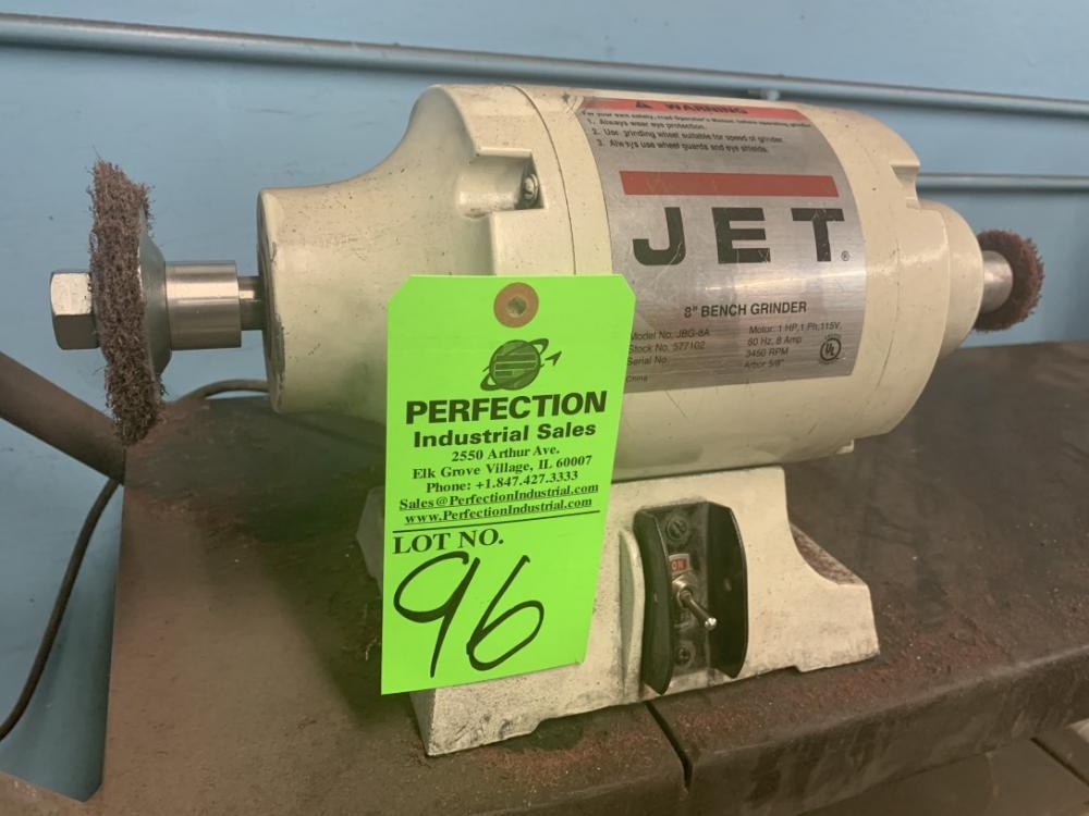 Amazing Jet Jbg 8A 8 Bench Grinder S N 577102 Price Estimate Us Ibusinesslaw Wood Chair Design Ideas Ibusinesslaworg