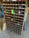 Hardware Cubby w/ Assorted Fasteners (Location: 14201 E Marshall St,  Tulsa, OK 74116)