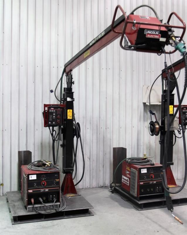 lincoln cv 305 tig welder s n unknown w lincoln ln 10 wire feed
