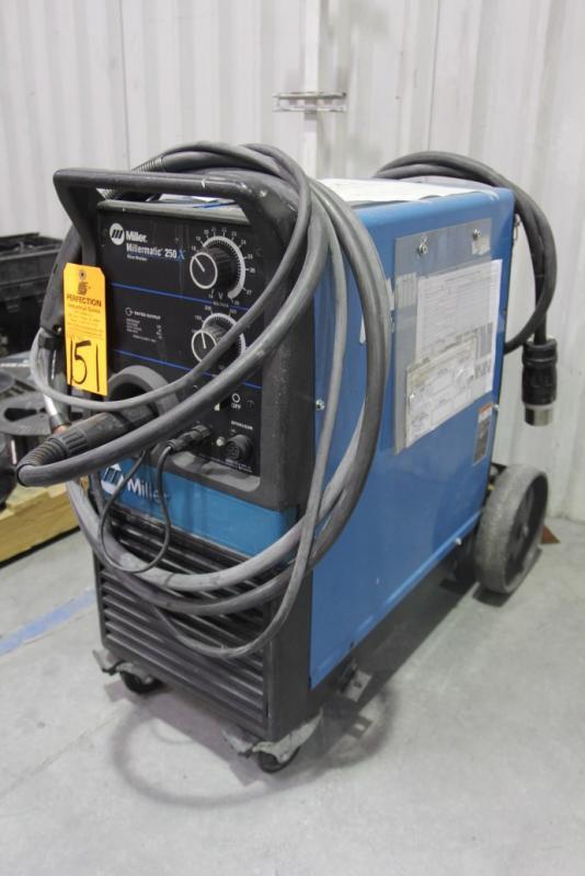 Miller Millermatic 250 Mig Welder S N La225940 Price Estimate Us Us