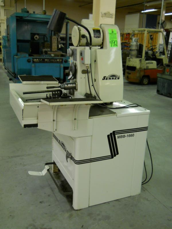 Sunnen MBB-1660-K Honing Machine, S/N  3D1-98557 - Price Estimate