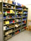 (6) Sections of Light Duty Shelving Unit, Contents Not Included