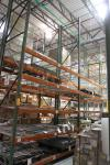 "(3) Section of 20' x 10' Cross Beams x 48"" Deep Tear Drop Style Pallet Racking (EMS Shipping Area near SMT)"