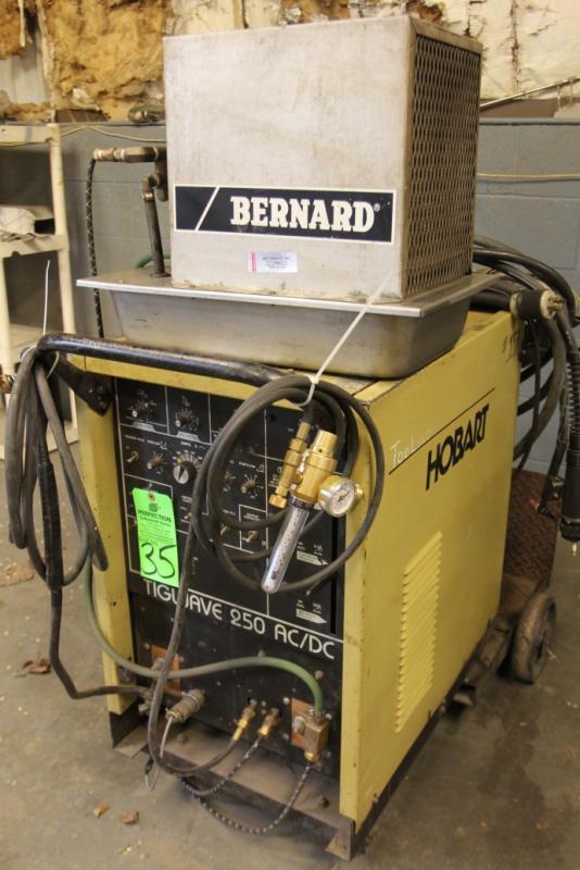 Hobart Tig Welder >> Hobart Tigwave 250 Ac Dc Tig Welder S N 294ws35800 Price