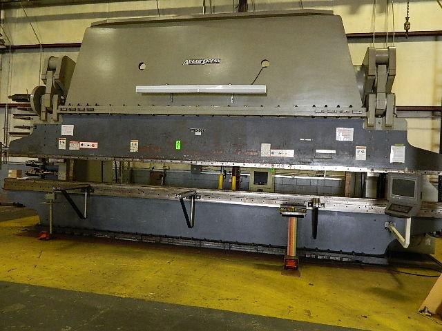 2003 Accurpress 710002428 1000 Ton 5 Axis CNC Press Brake
