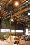 2 Ton Swivel Jib Crane w/ P & H Electric Hoist (Location: Cat Aurora)