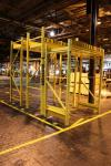 Lot of (3) Heavy Duty Part Hanger Racks  (Location: Cat Aurora)