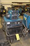 Miller Deltaweld 452 CV/DC Welding Power Supply, S/N LE230290, (2004), w/ 70 Series Dual Wire Feeder, Note - No Mig Guns, Cart; # WM 101