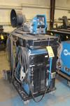 Miller Axcess 450 DC Welding Power Supply, S/N LJ441282U, (2008), w/ Axcess 40V Microprocessor Wire Feeder, Cart, Note - No Mig Gun