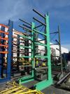 "7 Tier Cantilever Rack, 1525 LB Capacity/Arm, 32,500 LB Capacity Total, 48"" Arms, (Rack Only No Content) (Anoka, MN)"