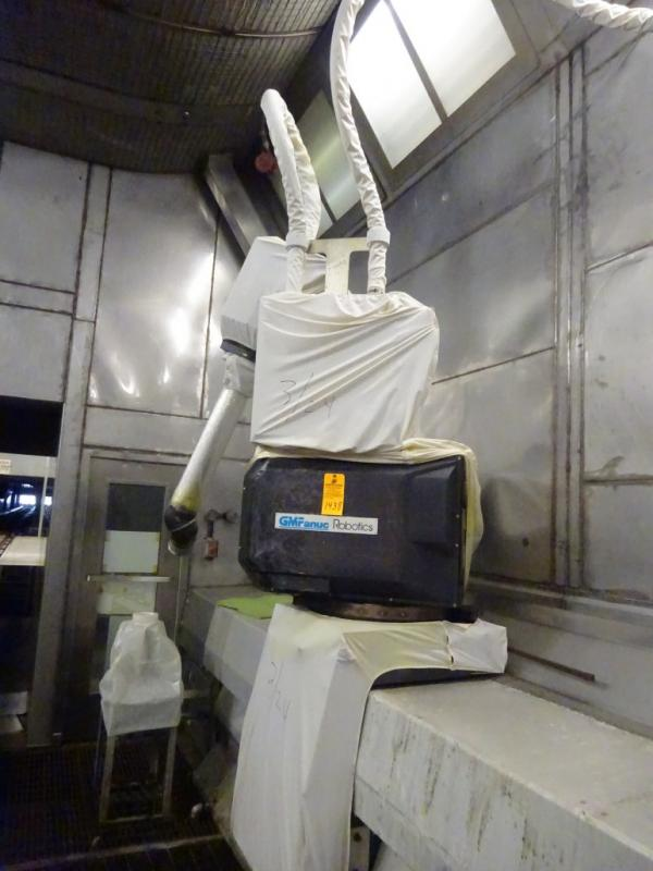 GM Fanuc Model P-155 Painting Robot Arm S/N M0027 Paint Booth # 1