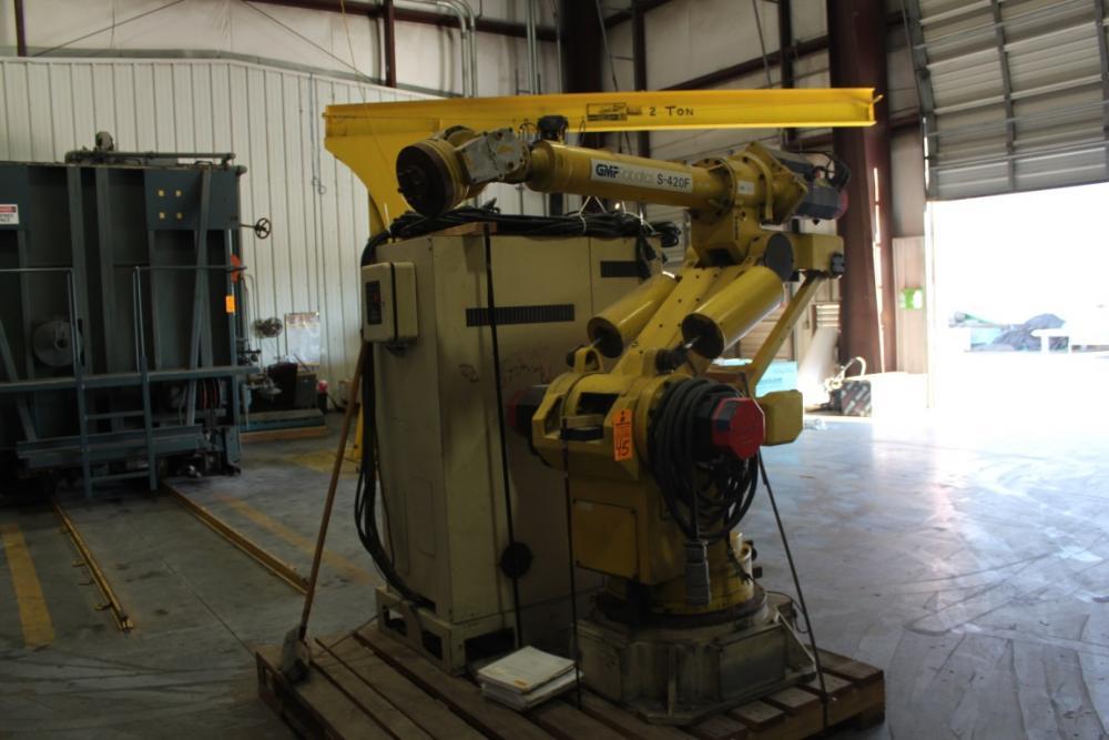 GMF Robotics Model S-420F CNC Robot, S/N R89503729, Fanuc