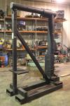 "Forklift Boom Attachment, Approx 25,000 LB Capacity, 113"" T x 5' Arm"