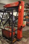 "Forklift Boom Attachment, Approx 20,000 LB Capacity, 92"" T x 6' Arm"