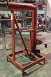 Forklift Boom Attachment, Approx 5,000 LB Capacity, 5'H x 3' Arm