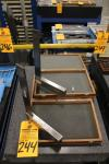"Lot of (2) 8"" x 12"" Precision Right Angle Squares"