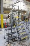 Lot of (2) 6 & 4 Step Portable Ladders