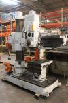 "Fosdick 4'Arm x 13"" Column Radial Arm Drill, s/n unknown, 14-1450 Spindle RPM, 24"" x 30"" Tilting Table"