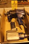"Lot of (1) 1"" and (1) 3/4"" Drive Blue Point Pneumatic Impact Wrenches"