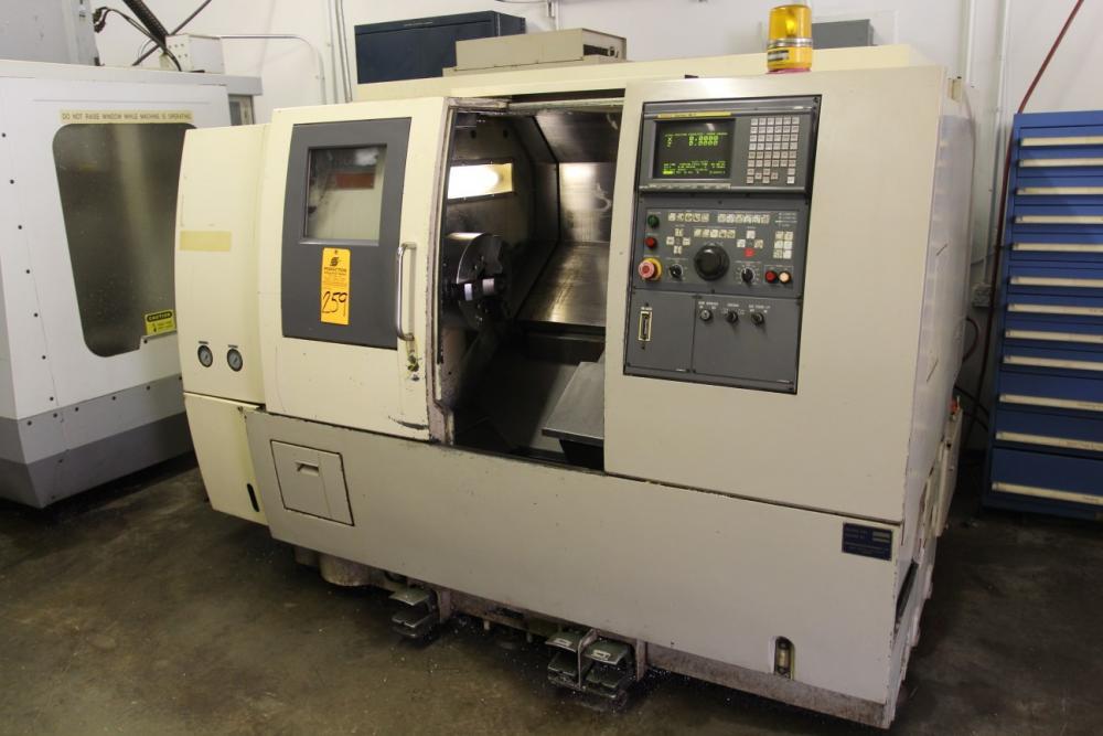 OKUMA & HOWA HL-35 CNC Lathe, s/n 00273, Fanuc Series 18-T CNC
