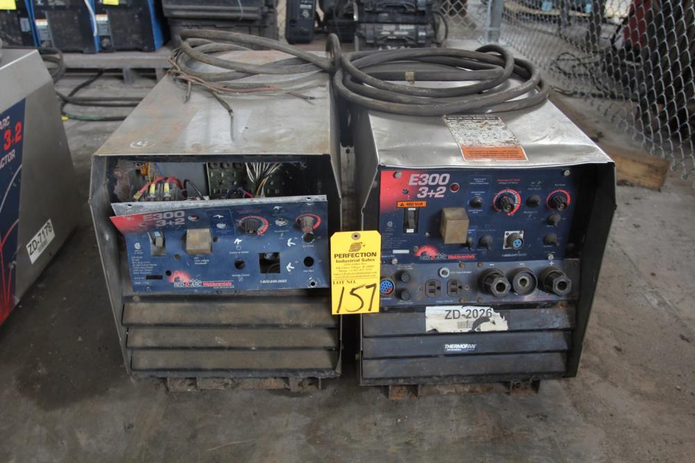 2) Red-D-Arc E300 Contractor 3+2 Plus Arc Welders - Price