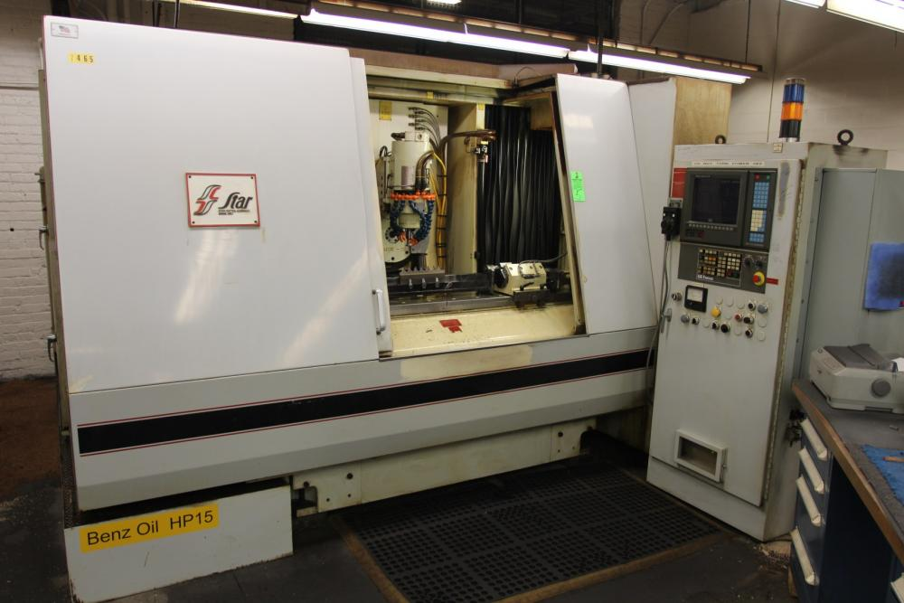 Star UTG600 5-Axis CNC Universal Tool Cutter and Grinder, s/n 613