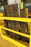 "Set of (5) 52"" x 6"" x 24"" Deep Base Angle Plates"