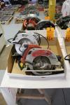"Lot of (2) 7 1/4"" Circular Saws Including Milwaukee and Porter Cable (This Lot is Located in Louisiana, MO)"