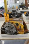 "Lot Comprising Dewalt DW378G 7 1/4"" Framing Saw w/ Shop Series 7 1/4"" Circular Saw (This Lot is Located in Louisiana, MO)"