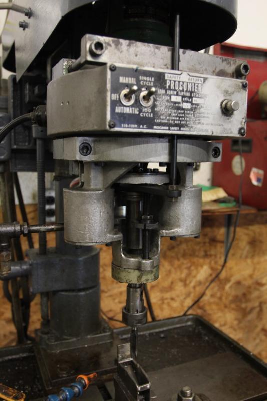 boyar shultz drill press w   procunier size 3 al style lead
