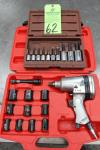 "1/2"" Pneumatic Impact Wrench w/ Extension Sets"