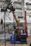 2013 Boom Welding Station w/ Miller Dimension 652 MIG Welder, s/n MD020179C, w/ Process Selector Control, Miller 70 Series Wire Feed, s/n MD071029U, w/ Boom