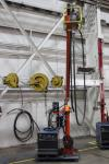 2012 Boom Welding Station w/ Miller Dimension 652 MIG Welder, s/n MC470086C, w/ Process Selector Control, Miller 70 Series Wire Feed, s/n MD081671U, w/ Boom