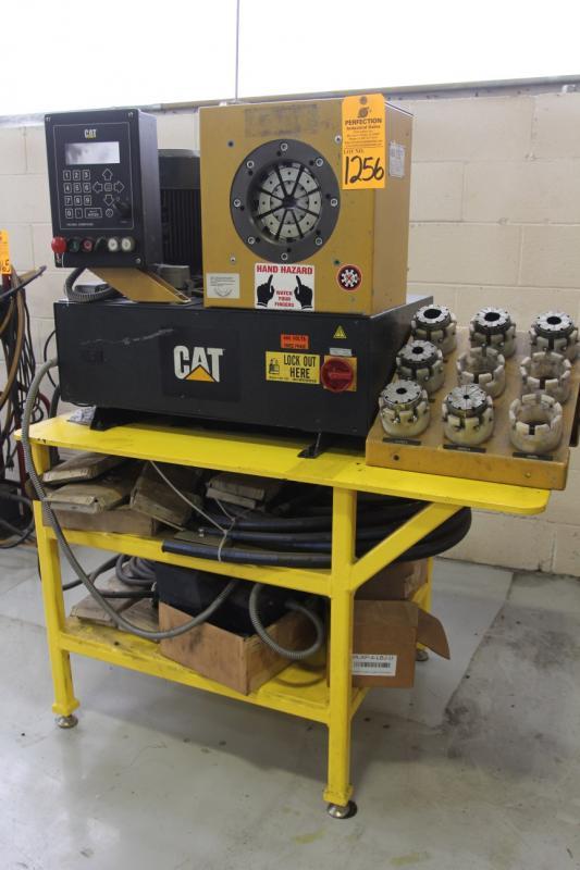 Uniflex Hydraulic Hose Crimper, Model CAT238-8026, w/ Assorted